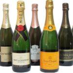В прошлом году прирост продаж французского шампанского в Россию составил 25%
