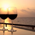 Яхта и вино